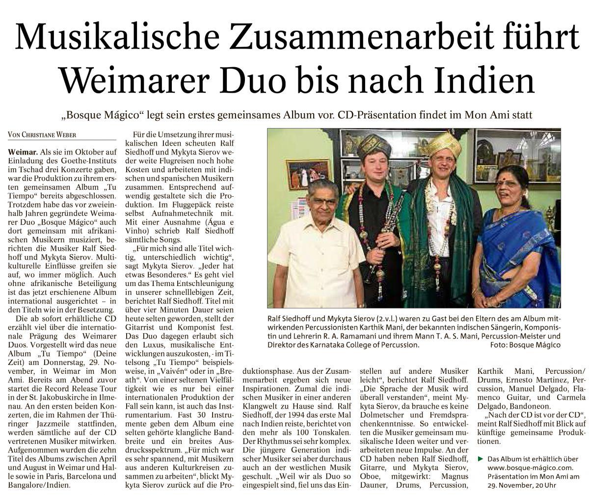 Thüringer Allgemeine - September 2018