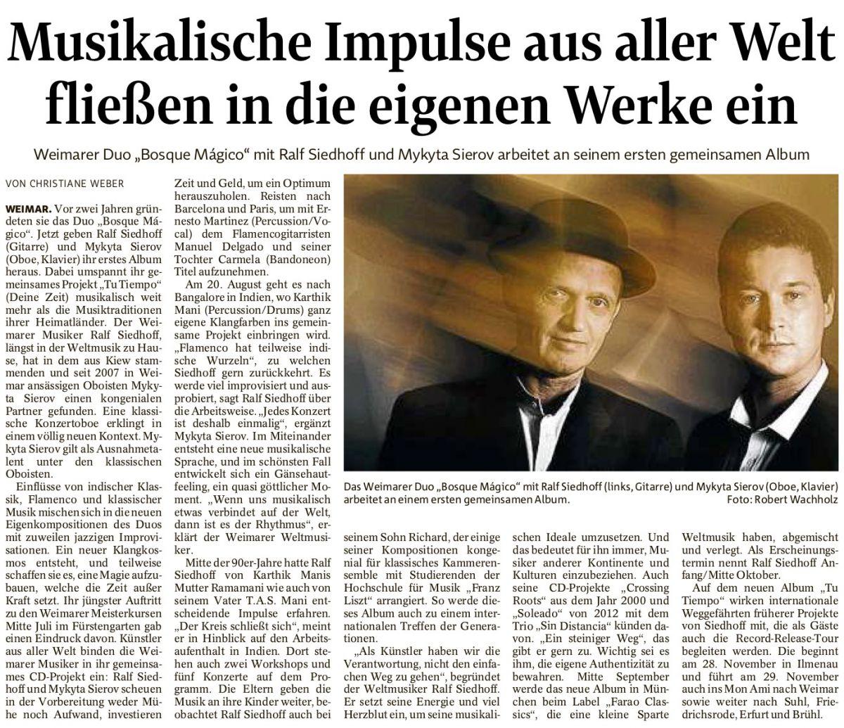 Thüringer Allgemeine - August 2018